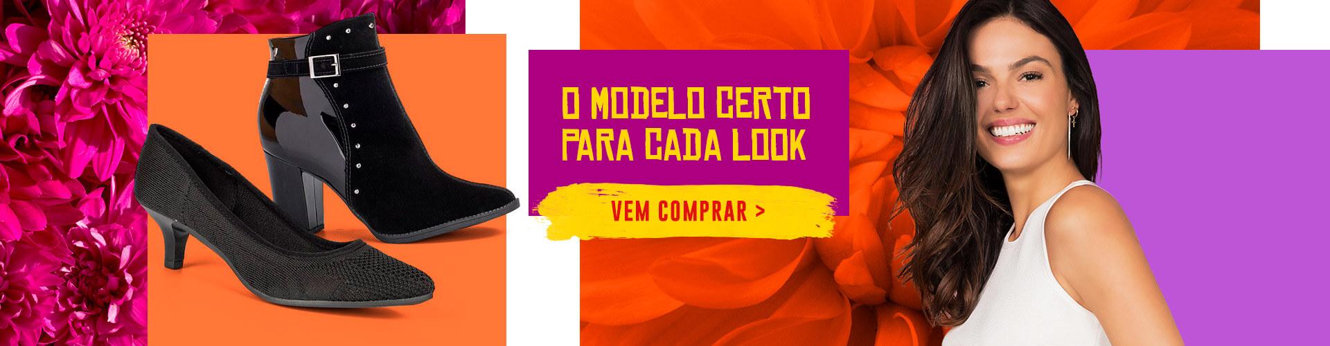 O modelo certo para cada look
