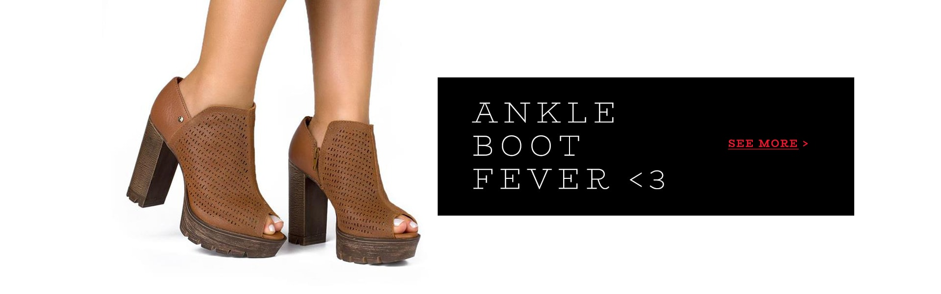 Ankle boot fever