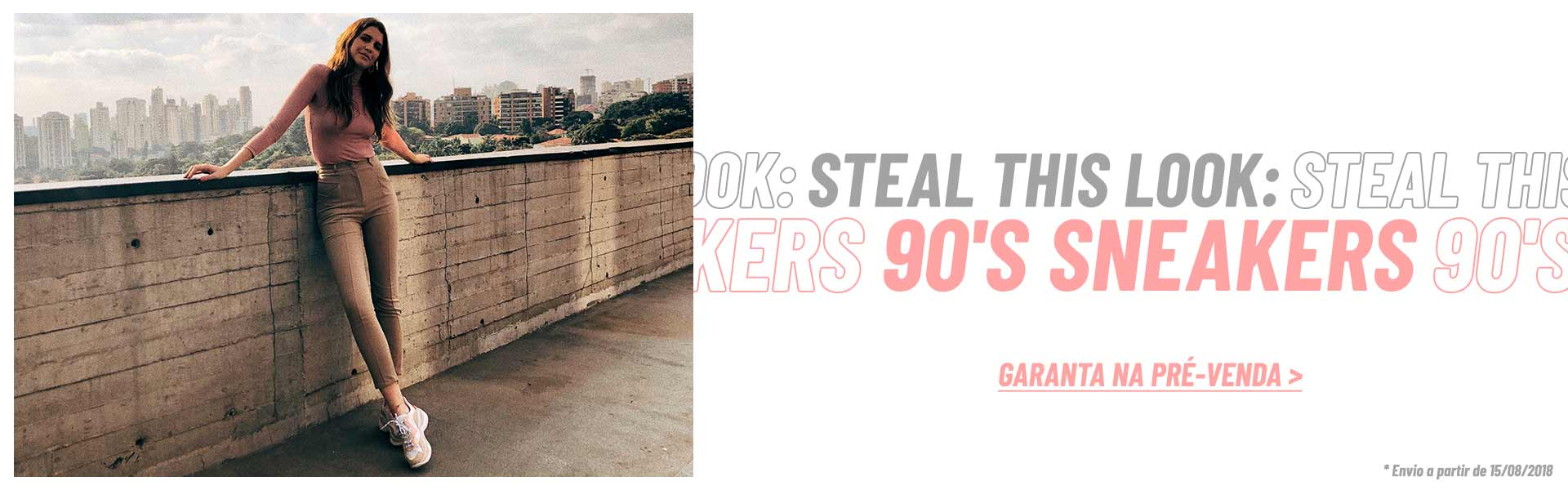 Steal this looks: 90's Sneakers