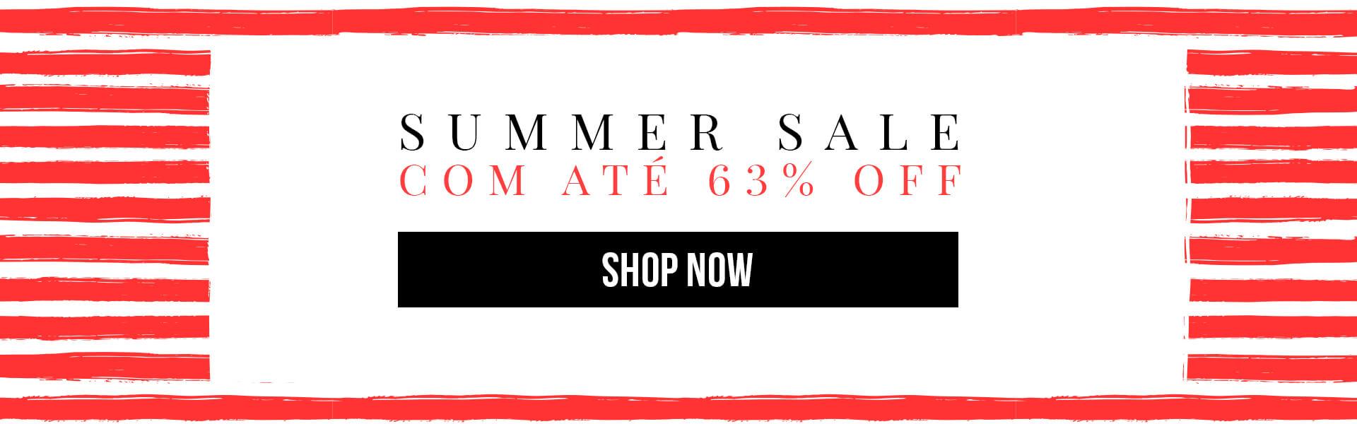 Summer Sale com até 63% OFF
