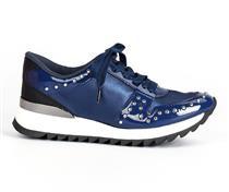 Tênis jogging  Tanara azul com tachas