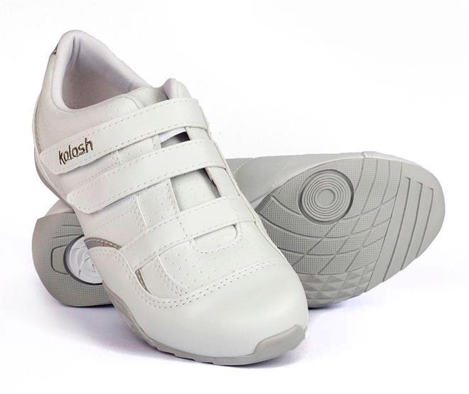 28a7f79a2f1 Tênis Casual Feminino Kolosh Branco - Kolosh