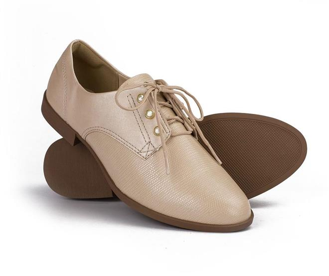 906e3d43a0 Sapato Dakota Oxford Nude - Dakota