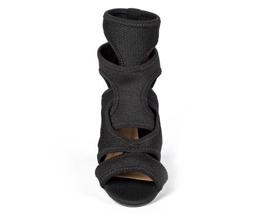 8810d8a33 Summer boot Tanara em malha com recortes preta. Adicionar à lista de desejos