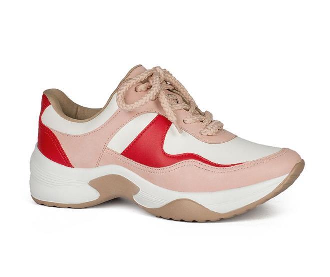 9194a926dd ... Tênis Dad Sneakers Dakota Rosa e Vermelho. Página Inicial. Cores