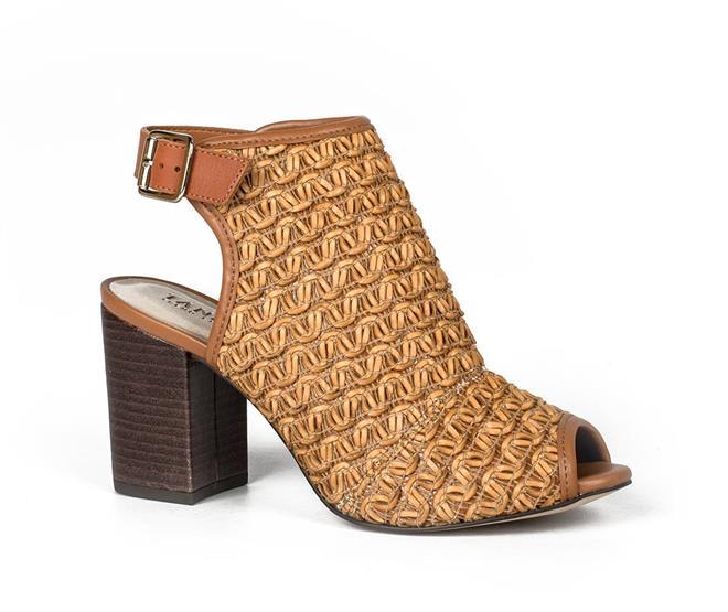 d94fd39e81 Sandal Boot Tanara Tressê Caramelo - Tanara