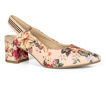 Chanel Salto  Bloco Dakota Floral