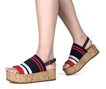Sandália Flatform  Dakota Azul