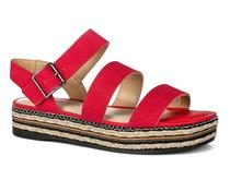 Sandália Flarform  Dakota Vermelha