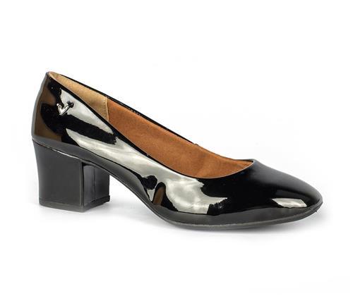 c45d1950a Sapato Mississipi Scarpin Salto Baixo Preto - Mississipi