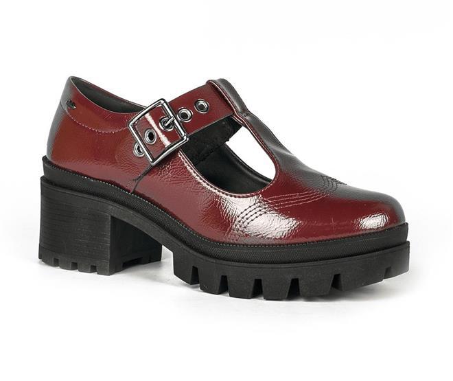 b69dc2a234 ... Sapato Dakota Tratorado Verniz Vermelho. Página Inicial. Dakota - flag  inverno 2019. Cores